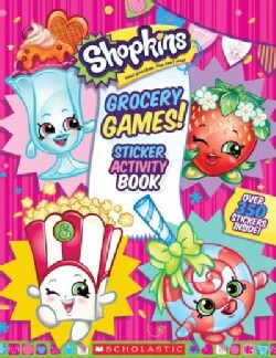 Grocery Games! Sticker Activity Book (Paperback)