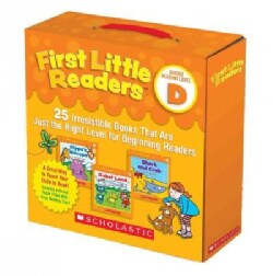 First Little Readers: 25 Irresistible Books That Are Just the Right Level for Beginning Readers, Level D: Include... (Paperback)