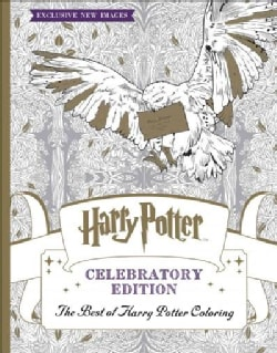 The Best of Harry Potter Coloring Book: Harry Potter Celebratory Edition  (Paperback)