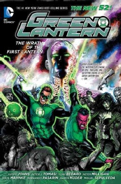 Green Lantern: The Wrath of the First Lantern (Paperback)