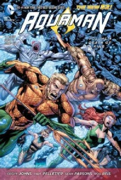 Aquaman 4: Death of a King (Hardcover)