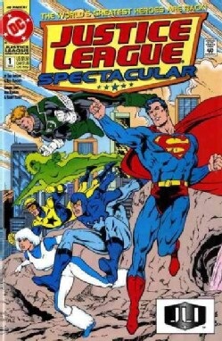 Superman and the Justice League America (Paperback)