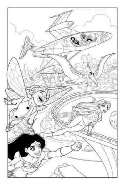 DC Super Hero Girls: A Kids Coloring Book (Paperback)