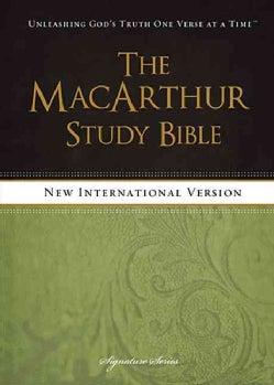 The MacArthur Study Bible: New International Version (Hardcover)