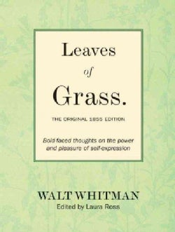 Leaves of Grass: The Original 1855 Edition (Hardcover)