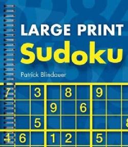 Large Print Sudoku (Paperback)