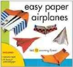 Easy Paper Airplanes: Fold 10 zooming flyers! (Paperback)