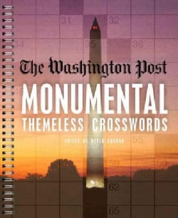 The Washington Post Monumental Themeless Crosswords (Paperback)