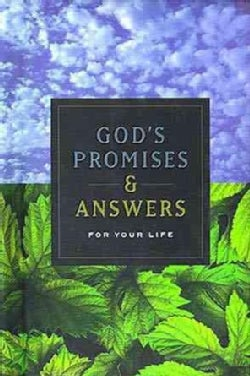 God's Promises & Answers for Your Life (Paperback)