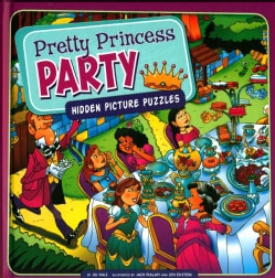 Pretty Princess Party: Hidden Picture Puzzles (Hardcover)