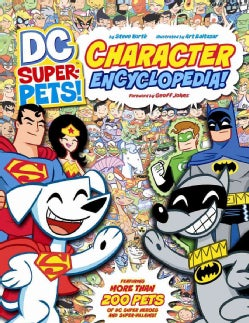 DC Super-Pets Character Encyclopedia (Paperback)