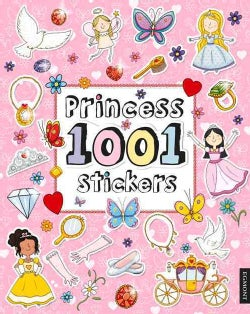 Princess 1001 Stickers (Paperback)