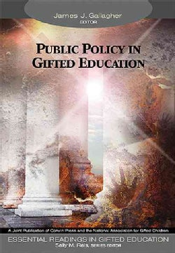 Public Policy in Gifted Education (Paperback)