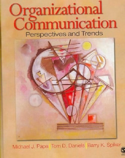 Organizational Communication: Perspectives and Trends (Hardcover)