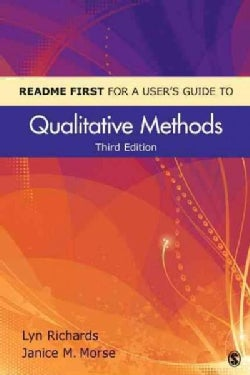Readme First for a User's Guide to Qualitative Methods (Paperback)