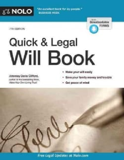 Quick & Legal Will Book (Paperback)