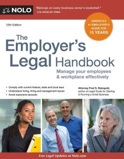 The Employer's Legal Handbook: Manage Your Employees & Workplace Effectively (Paperback)