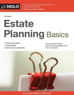 Estate Planning Basics (Paperback)