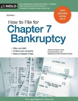 How to File for Chapter 7 Bankruptcy (Paperback)