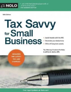 Tax Savvy for Small Business (Paperback)