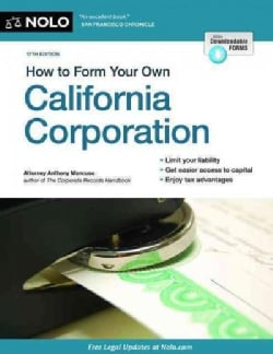 How to Form Your Own California Corporation (Paperback)