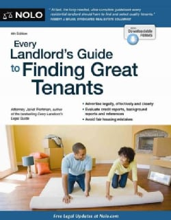 Every Landlord's Guide to Finding Great Tenants (Paperback)
