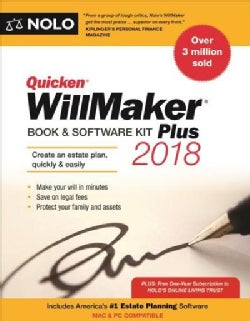 Quicken Willmaker Plus 2018: Book & Software Kit
