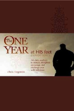 The One Year at His Feet Devotional (Paperback)