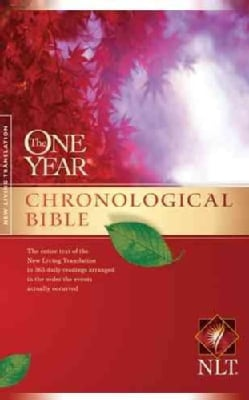 The One Year Chronological Bible: New Living Translation (Paperback)