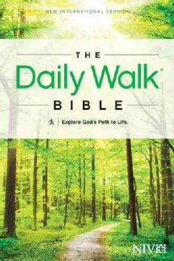 The Daily Walk Bible: New International Version: Explore God's Path to Life (Paperback)