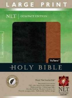 Holy Bible: New Living Translation Black / Tan TuTone LeatherLike (Paperback)