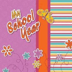 My School Year Scrapbooking Album (Hardcover)
