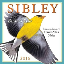 Sibley 2016 Calendar: The Birder's Year (Calendar)