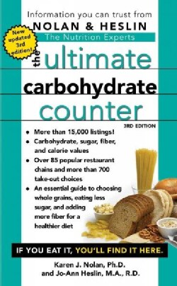 The Ultimate Carbohydrate Counter (Paperback)