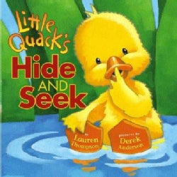 Little Quack's Hide And Seek (Board book)