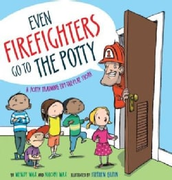 Even Firefighters Go to the Potty: A Potty Training Lift-the-Flap Story (Hardcover)