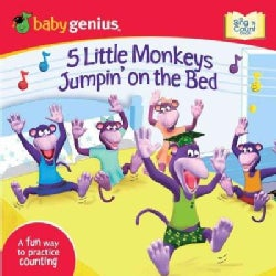 5 Little Monkeys Jumpin' on the Bed (Board book)