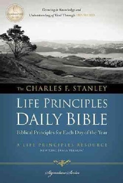 The Charles F. Stanley Life Principles Daily Bible: New King James Version (Paperback)