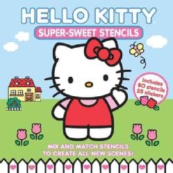 Hello Kitty Super-Sweet Stencils (Hardcover)