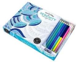 Serenity Adult Coloring Book: Coloring Book & Pencils