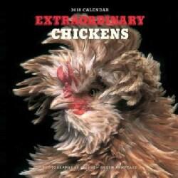 Extraordinary Chickens 2018 Calendar (Calendar)