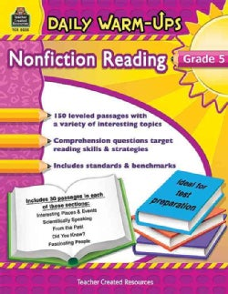 Daily Warm-Ups Nonfiction Reading Grade 5 (Paperback)