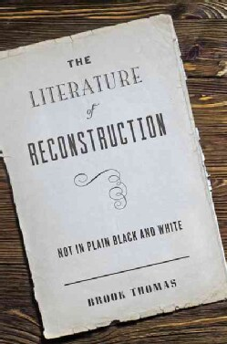 The Literature of Reconstruction: Not in Plain Black and White (Hardcover)