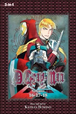 D.Gray-Man 6: 3-in-1 Edition (Paperback)