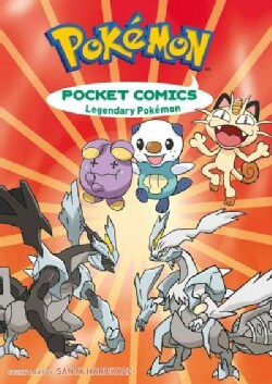 Pokemon Pocket Comics: Legendary Pokemon, Two Books in One! (Paperback)