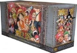 "One Piece Box Set 3: Thriller Bark to New World, Bonus Mini Comic ""One Piece x Dragon Ball"""