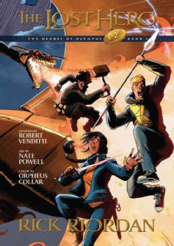 The Heroes of Olympus 1: The Lost Hero (Paperback)