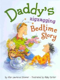 Daddy's Zigzagging Bedtime Story (Hardcover)