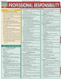 Professional Responsibility: Law (Wallchart)