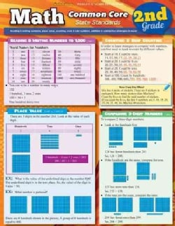 Math Common Core 2nd Grade: State Standards (Cards)